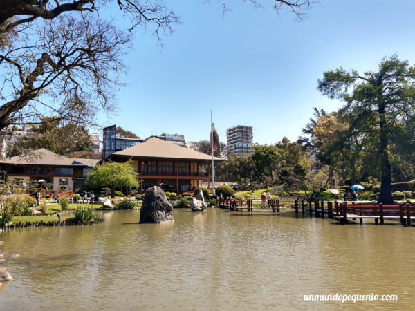 Lago del Jardín Japonés