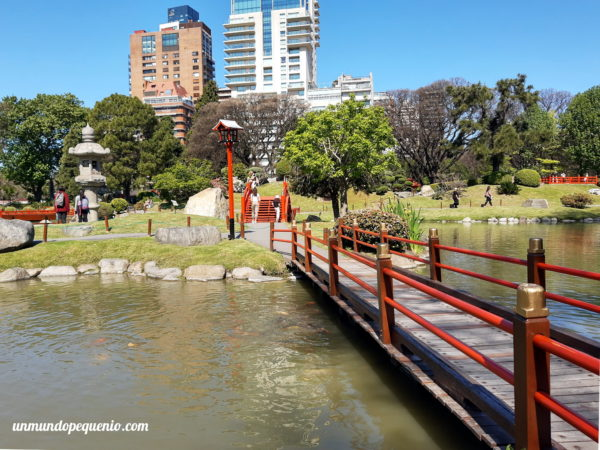 Pasarelas del Jardín Japonés