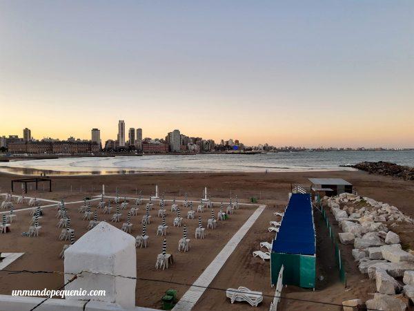 Atardecer en Mar del Plata