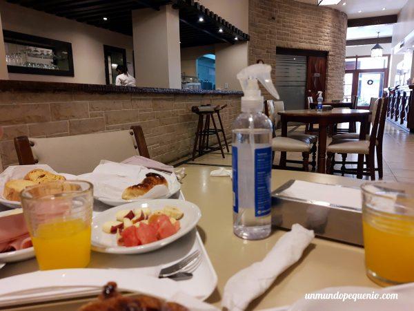 Lugar donde se sirve el desayuno