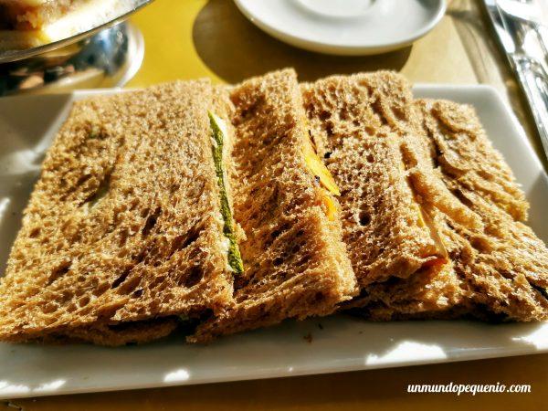 Sándwiches vegetarianos