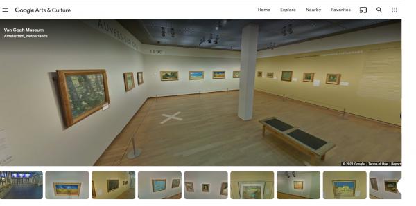 Museo Van Gogh tour virtual